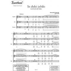 IN DULCI JUBILO (Cantate de Noël)