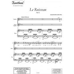 LE RUISSEAU Op.22