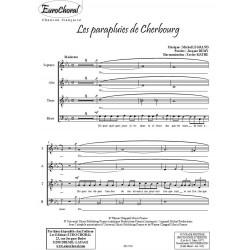 LES PARAPLUIES DE CHERBOURG (Choeur)