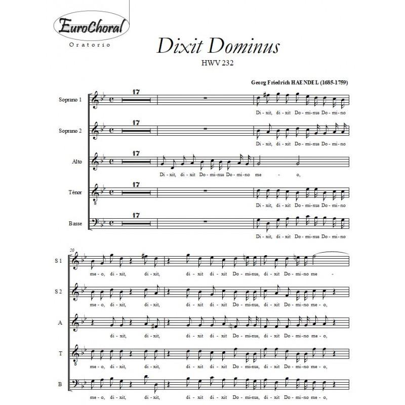 DIXIT DOMINUS (Haëndel)
