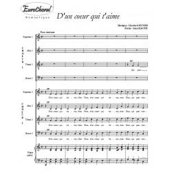D'UN COEUR QUI T'AIME (Ch. Gounod)