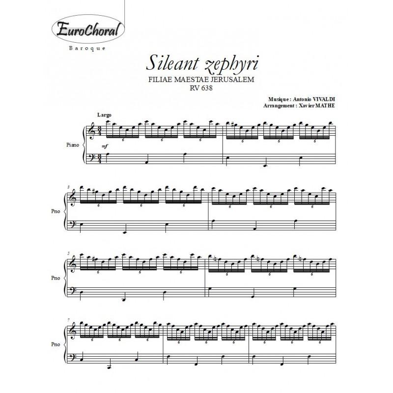 SILEANT ZEPHYRI (Vivaldi)