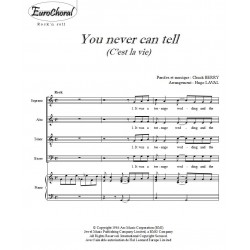 YOU NEVER CAN TELL (Conducteur)