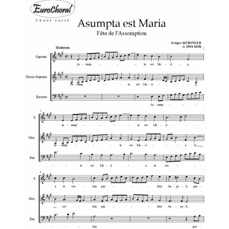 ASUMPTA EST MARIA (Aichinger)