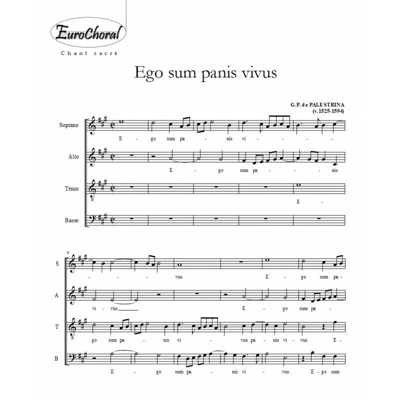 EGO SUM PANIS VIVUS (Palestrina)