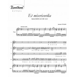 ET MISERICORDIA (Vivaldi)