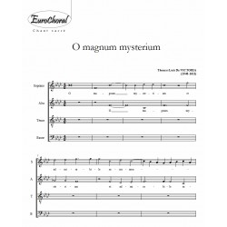 O MAGNUM MYSTERIUM (Victoria)