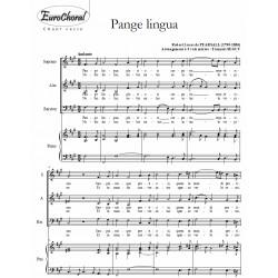 PANGE LINGUA (De Pearsall)