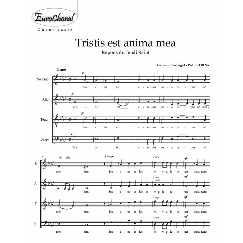 TRISTIS EST ANIMA MEA (Palestrina)