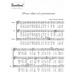 D'UNE COLINE M'Y PROUMENANT (Le Jeune)