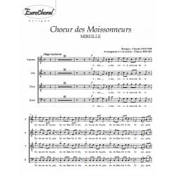 CHOEUR DES MOISSONNEURS (Gounod)