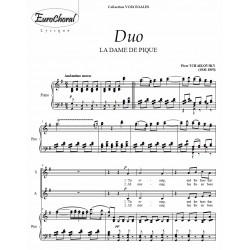 "DUO ""TIS EVENING""  (Tchaikovsky)"