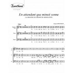 EN ATTENDANT QUE MINUIT SONNE (Offenbach)