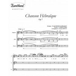 CHANSON HEBRAÏQUE (Rimsky-Korsakov)