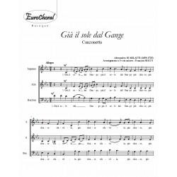 GIA IL SOLE DAL GANGE (Scarlatti)
