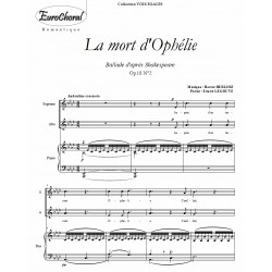 LA MORT D'OPHELIE (Berlioz)