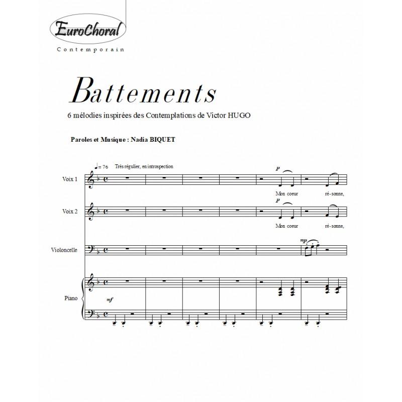 BATTEMENTS (N.Biquet)