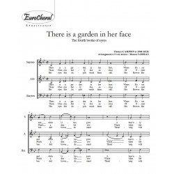 THERE IS A GARDEN IN HER FACE (Th. Campion)