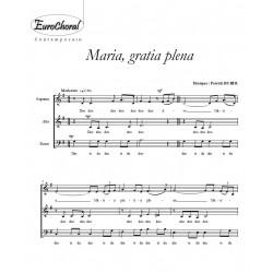 MARIA, GRATIA PLENA (P. Huber)