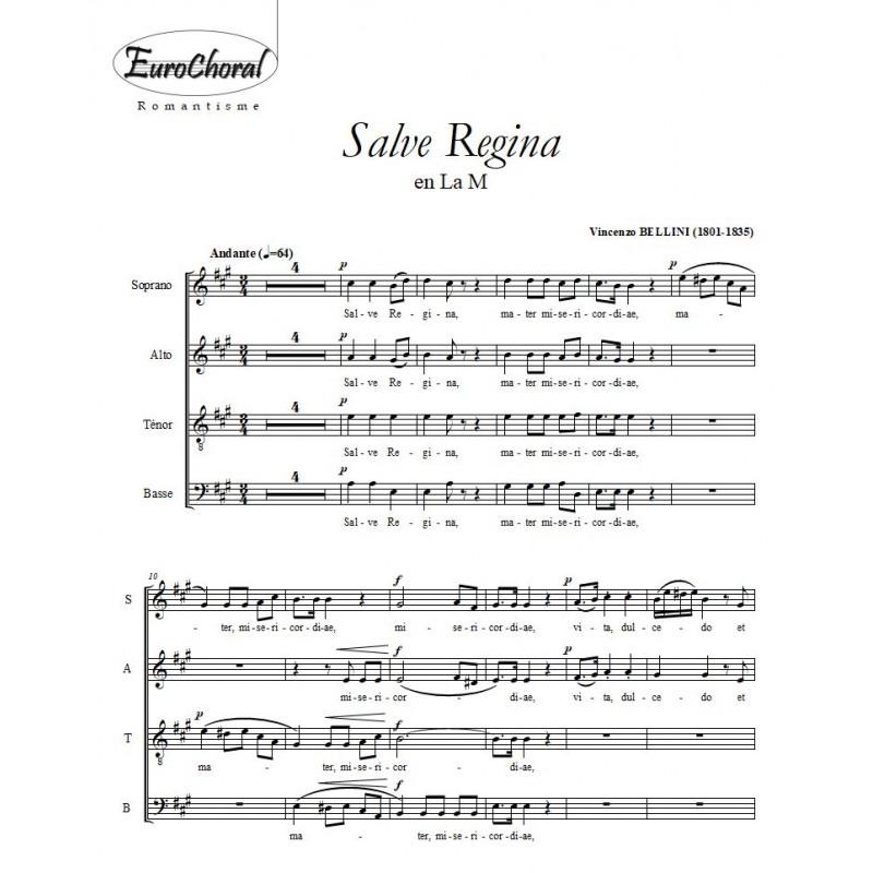 SALVE REGINA (V. Bellini)
