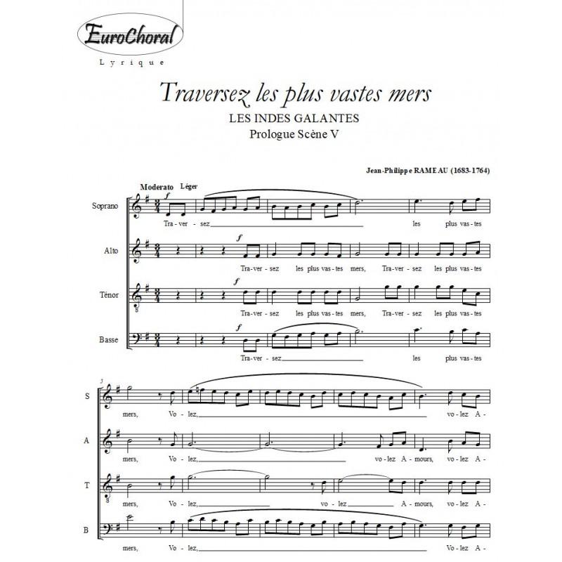 TRAVERSEZ LES PLUS VASTES MERS     (J.Ph.Rameau)