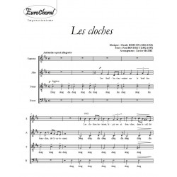 LES CLOCHES (C.Debussy)