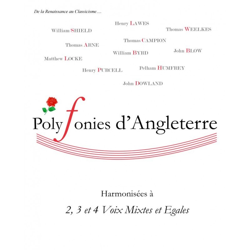 POLYPHONIES D'ANGLETERRE