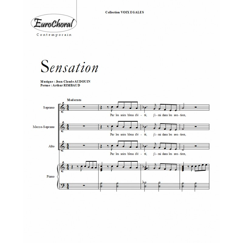 Sensation (J.C Audouin)