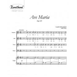 AVE MARIA Op.145 (Saint-Saëns)