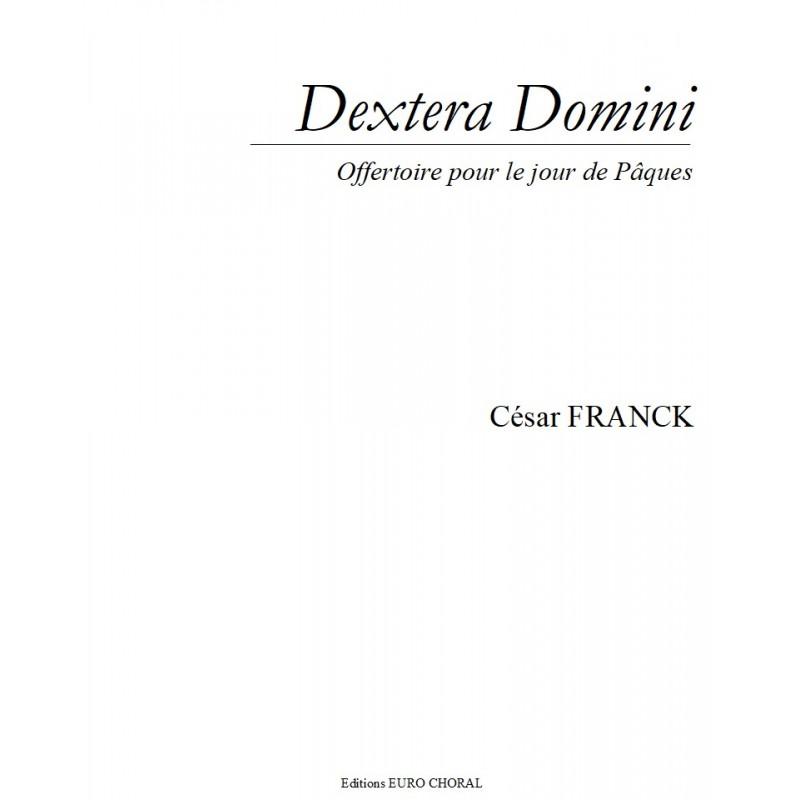 DEXTERA DOMINI (C.Franck)