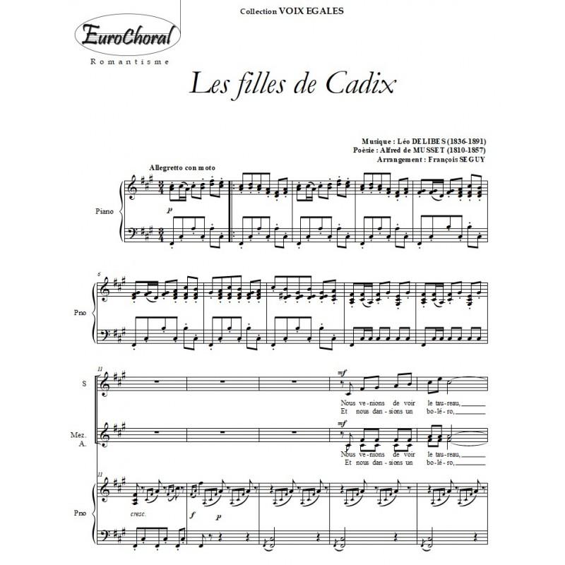 LES FILLES DE CADIX (L.Delibes)