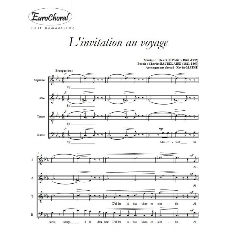 L'INVITATION AU VOYAGE (H.Duparc)