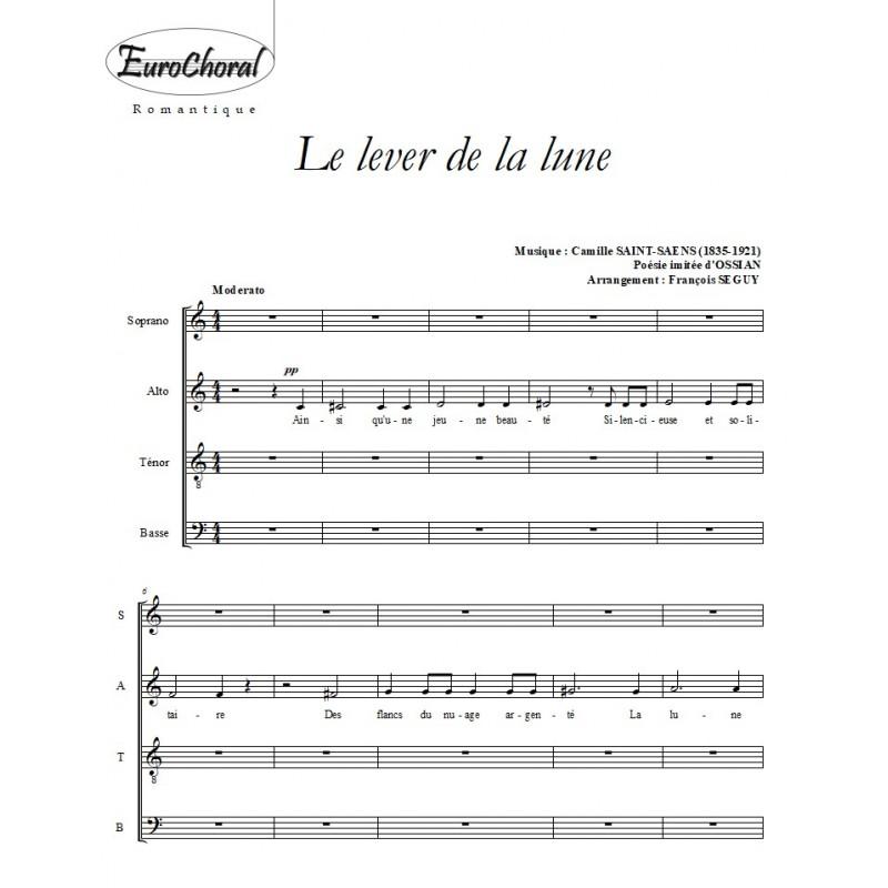 LE LEVER DE LA LUNE (Saint-Saëns)