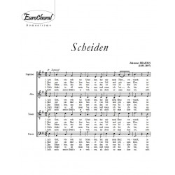 SCHEIDEN (J.Brahms)