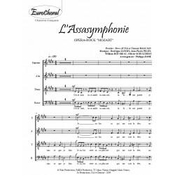 L'ASSASYMPHONIE(Opéra-Rock Mozart) (Chœur)