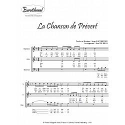 Chanson de Prévert