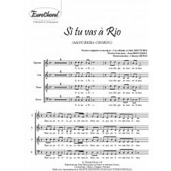 SI TU VAS A RIO (Madureira chorou) (Chœur)