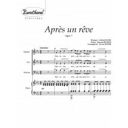 APRÈS UN RÊVE Op.37 (3 VM)