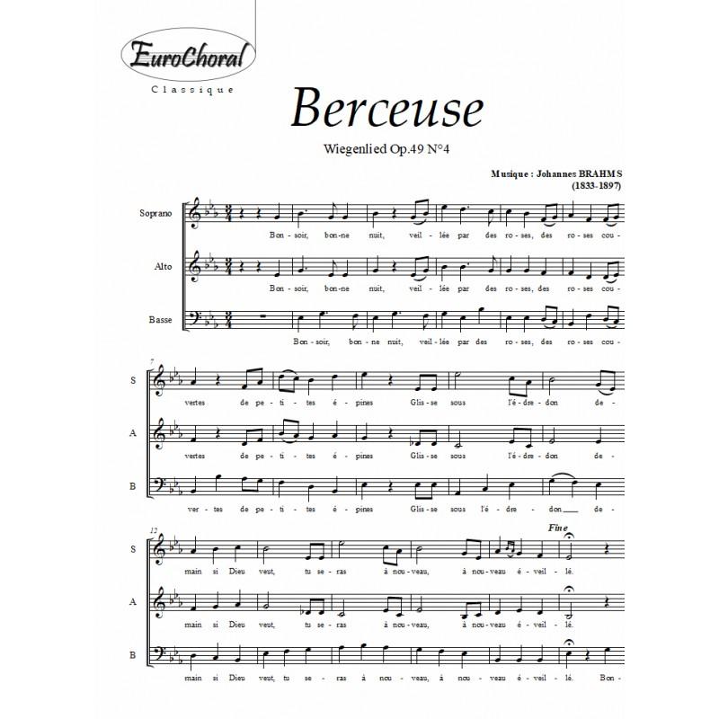BERCEUSE (Wiegenlied) Op.49 N°4)