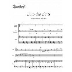 DUO DES CHATS (Duetto buffo di due gatti)