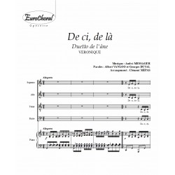 DE CI DE LA (Duetto de l'âne) (Conducteur)