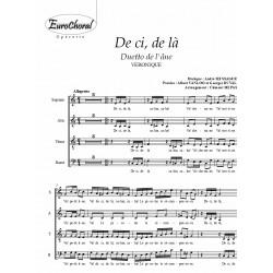 DE CI DE LA (Duetto de l'âne) (Choeur)