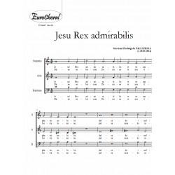 JESU REX ADMIRABILIS