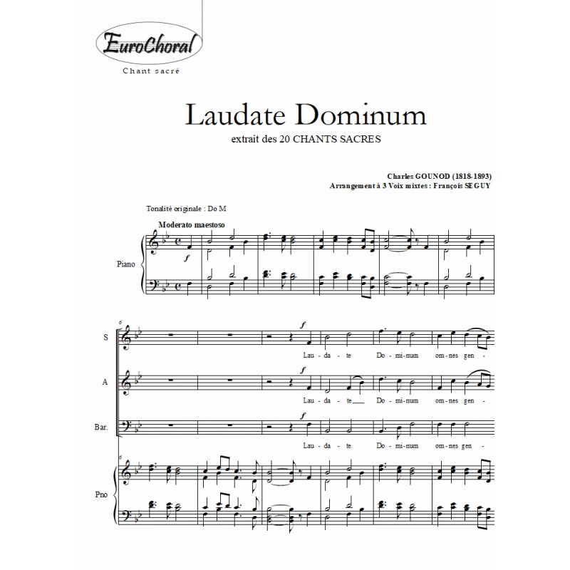 LAUDATE DOMINUM