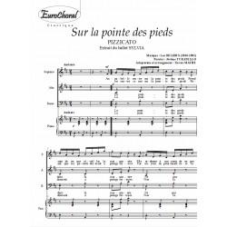 """PIZZICATO (""""Sur la pointe des pieds"""" - Ballet SYLVIA)"""
