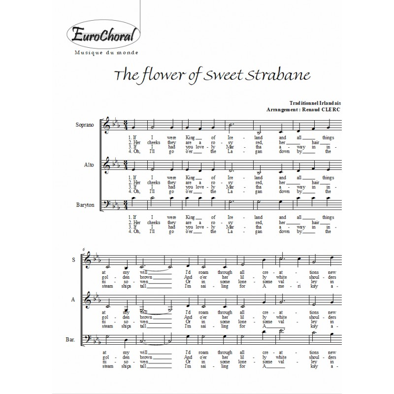 The flower of sweet strabane (Traditionnel irlandais)