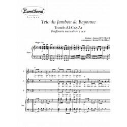 Trio du jambon de Bayonne (Trom Al-Caz-Ar)