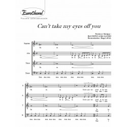 CAN'T TAKE MY EYES OFF YOU (Choeur)