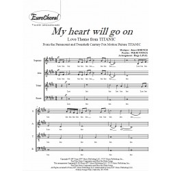 MY HEART WILL GO ON (B.O Titanic)