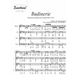 BADINERIE (Suite pour orchestre en Si m BWV 1067)